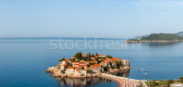 St. Stephan island in Montenegro Stock photo © master1305