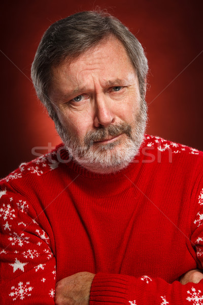Portrait of a sad man Stock photo © master1305