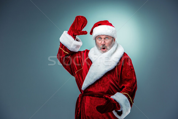 Surprised Santa Claus Stock photo © master1305