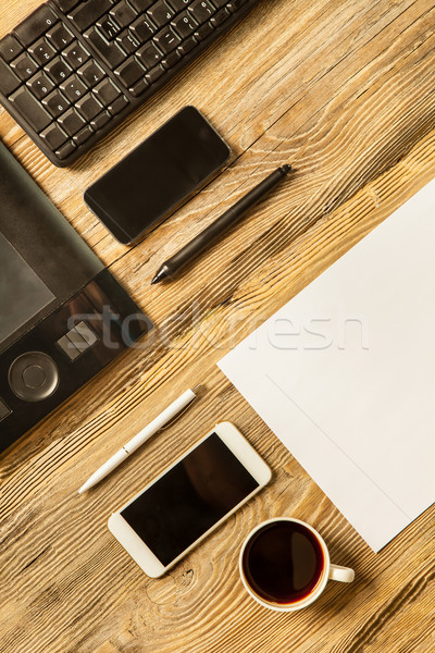 Responsive design mockup Stock photo © master1305