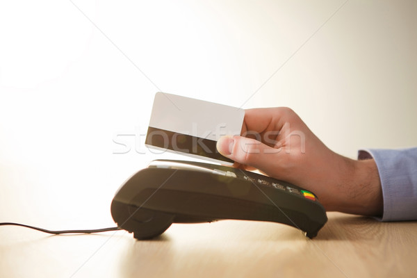 Credit card payment, buy and sell products or service Stock photo © master1305