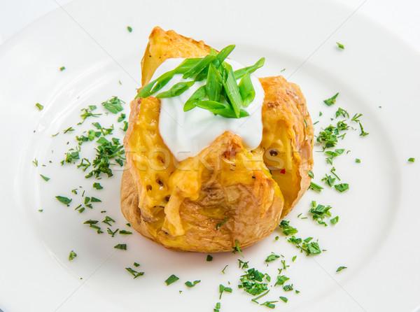 baked potato Stock photo © master1305