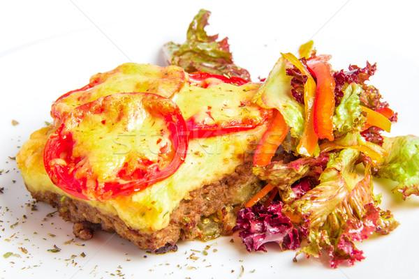 Meat gratin Stock photo © master1305