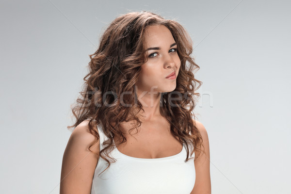 The portrait of disgusted and disaffected woman Stock photo © master1305