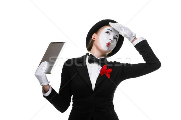 ストックフォト: ビジネス女性 · 画像 · 疲れ · 作業