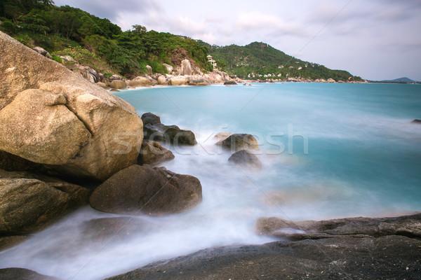 Shore spiaggia mare Thailandia sfondo estate Foto d'archivio © master1305