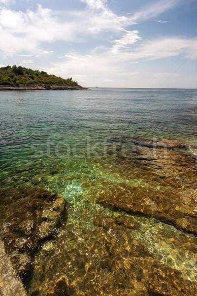 Wild beach in Pula, Croatia Stock photo © master1305