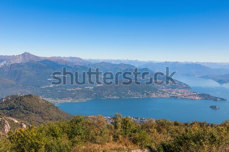 View  of  Lago Maggiore Stock photo © master1305