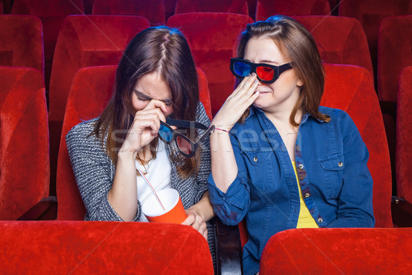 The spectators in the cinema Stock photo © master1305