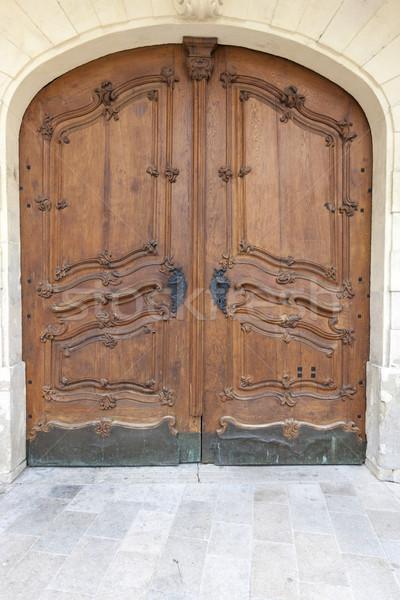 Tradicional porta cidade Eslováquia europa Foto stock © master1305