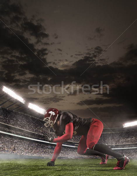 The american football player in action Stock photo © master1305