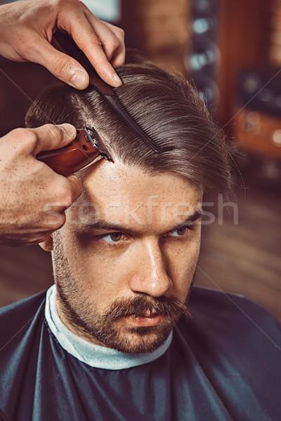 手 小さな 理髪 魅力的な ストックフォト © master1305