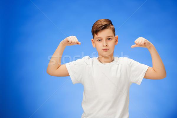 Photo stock: Beauté · souriant · sport · enfant · garçon
