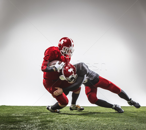 The two american football players in action Stock photo © master1305