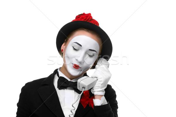 Mujer imagen mujer de negocios aislado Foto stock © master1305