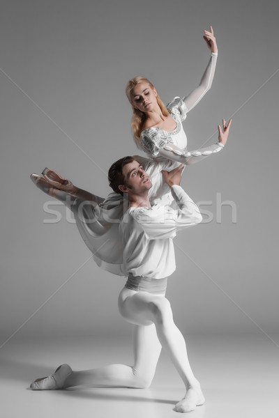 2 小さな バレエ ダンサー 魅力的な ストックフォト © master1305