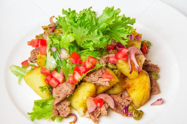 Swabian potato salad  Stock photo © master1305