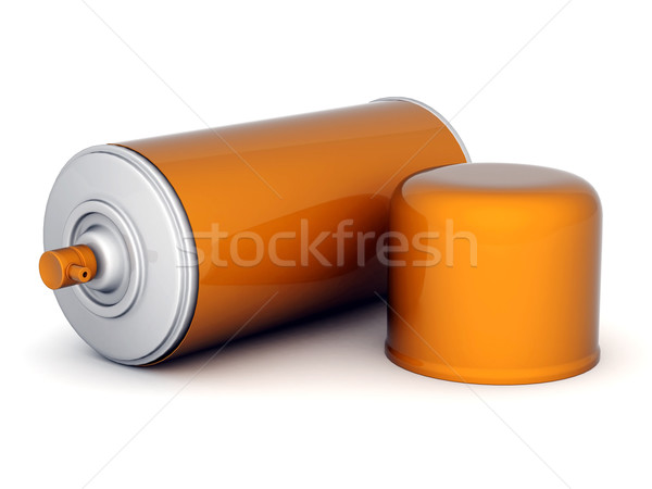 Aluminium spray afbeelding verf witte ontwerp Stockfoto © mastergarry