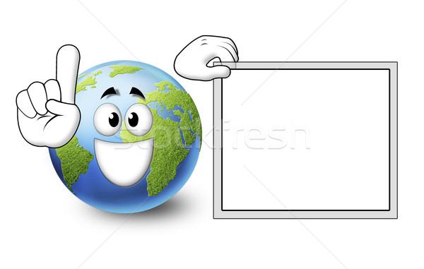 Mundo increíble fantástico ambiente cielo sonrisa Foto stock © mastergarry