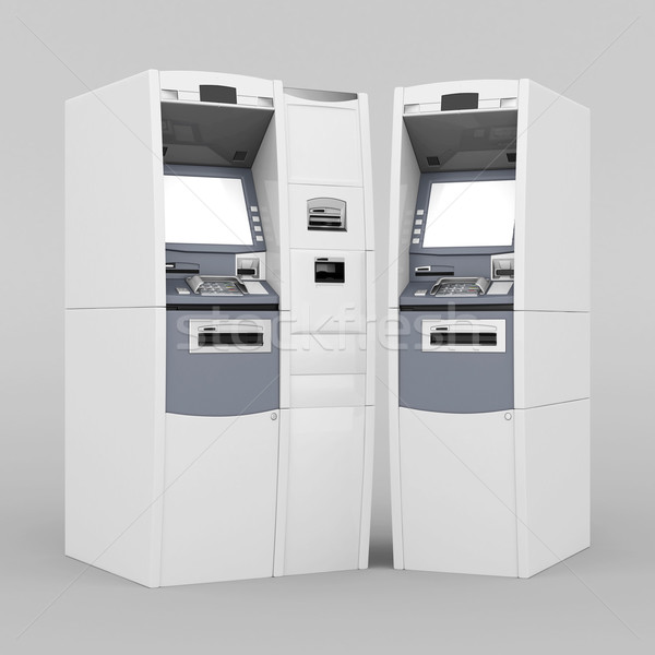 image of the new ATM Stock photo © mastergarry