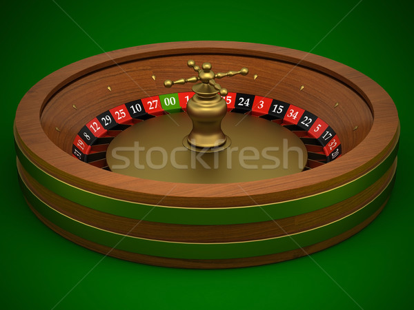 Roulette is a casino Stock photo © mastergarry