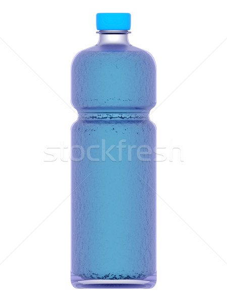 Foto stock: Garrafa · garrafa · de · água · água · branco · beber