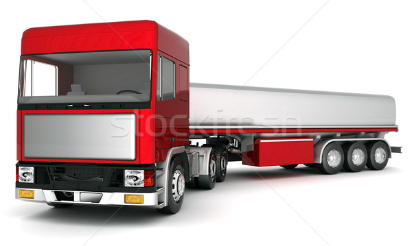 truck with cargo Stock photo © mastergarry