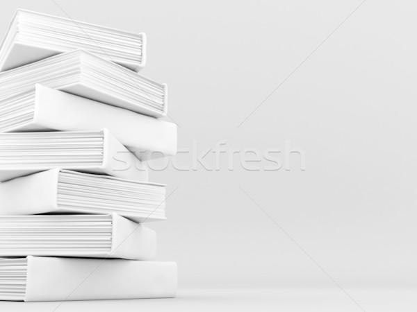 Boeken literatuur foto papier boek Stockfoto © mastergarry