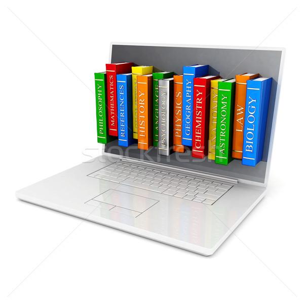 The image of laptop Stock photo © mastergarry