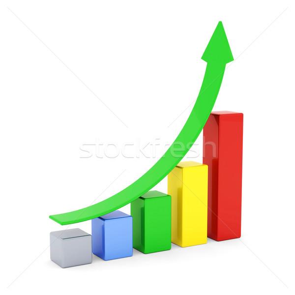 Iş finanse istatistik analitik vergi muhasebe Stok fotoğraf © mastergarry