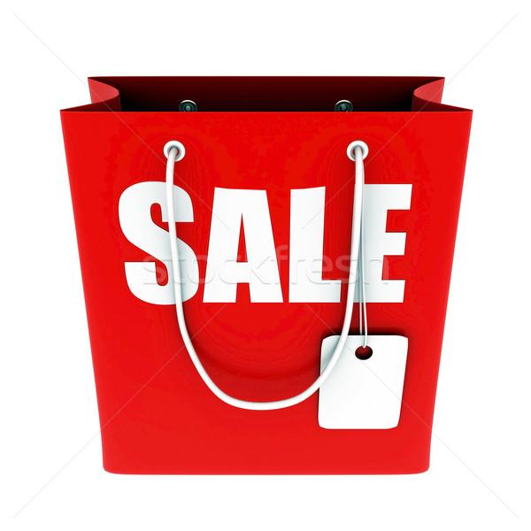 Grande vendita 3D immagine testo shopping Foto d'archivio © mastergarry