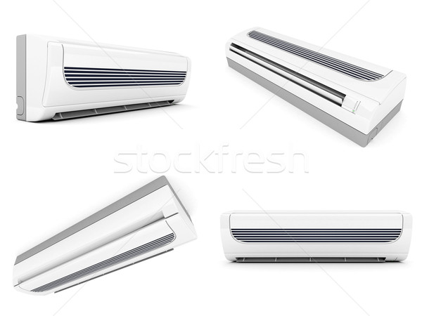 modern air conditioner Stock photo © mastergarry