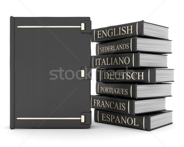Books bindings and Literature Stock photo © mastergarry