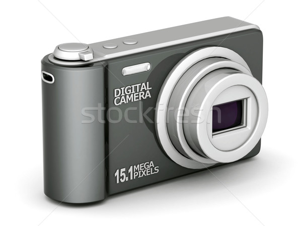 Câmera digital imagem branco tecnologia preto foto Foto stock © mastergarry