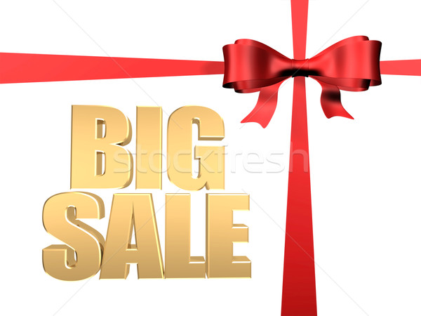 3D imagem texto grande venda Foto stock © mastergarry