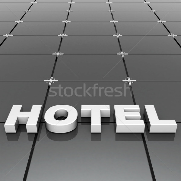 volumetric beautiful sign Stock photo © mastergarry