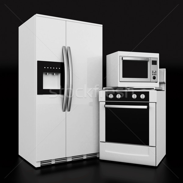 household appliances Stock photo © mastergarry