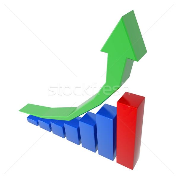 ビジネスグラフ 成長 統計 キャリア はしご ビジネス ストックフォト © mastergarry