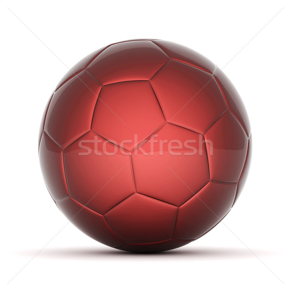 Balón de fútbol Foto blanco deporte equipo pelota Foto stock © mastergarry