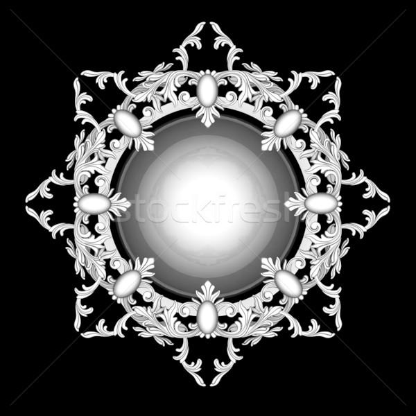 Сток-фото: пальто · оружия · изображение · красивой · древних · эмблема
