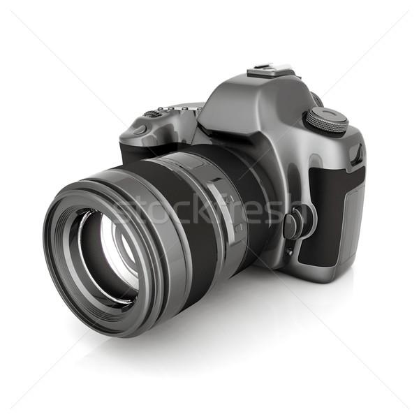 Digital camera Stock photo © mastergarry