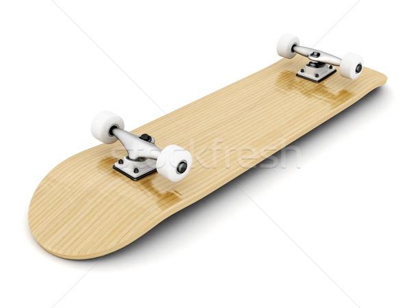 スケート ブランド 新しい スケート 若者 スタジオ ストックフォト © mastergarry
