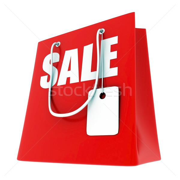 Grande venta 3D imagen texto compras Foto stock © mastergarry