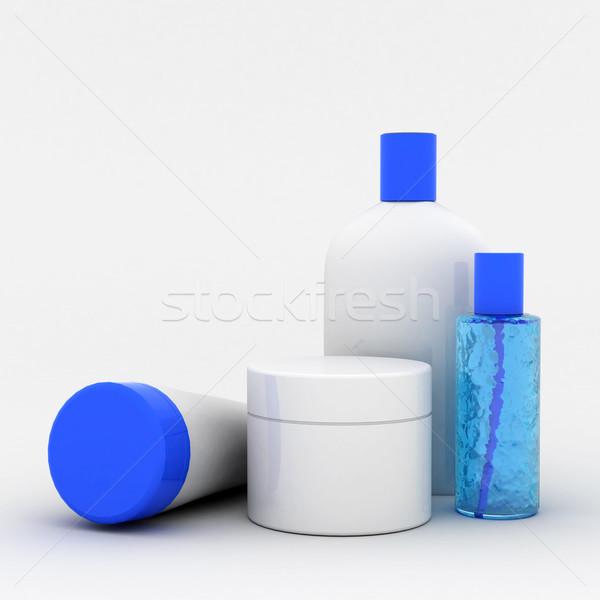 Cosméticos imagem pessoal cuidar garrafa Foto stock © mastergarry