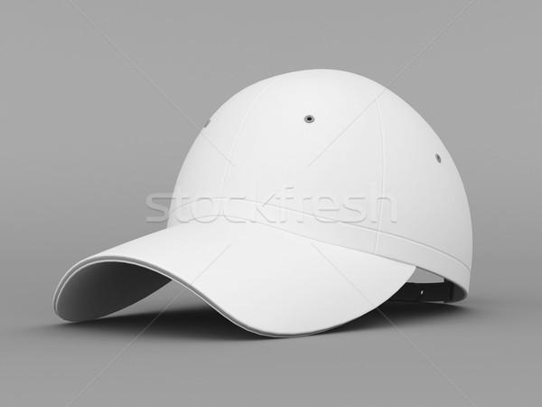 White baseball cap Stock photo © mastergarry