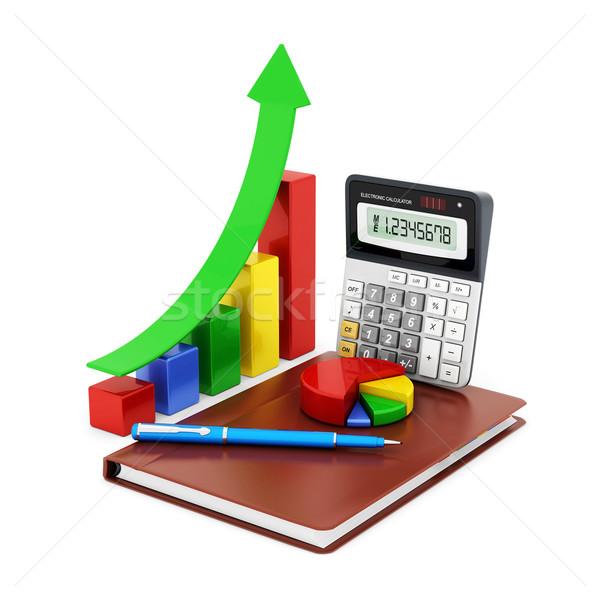 Negocios financiar estadística analítico impuesto contabilidad Foto stock © mastergarry