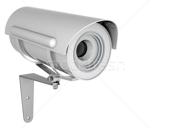 Kamera görüntü beyaz ev teknoloji güvenlik Stok fotoğraf © mastergarry