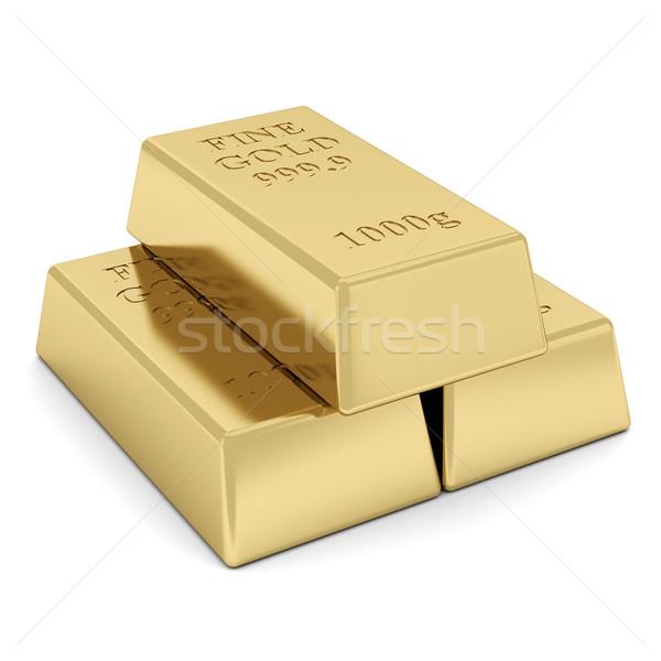 gold bar Stock photo © mastergarry