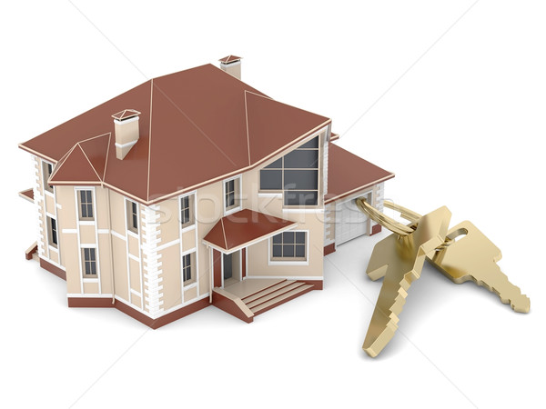 House with keys Stock photo © mastergarry