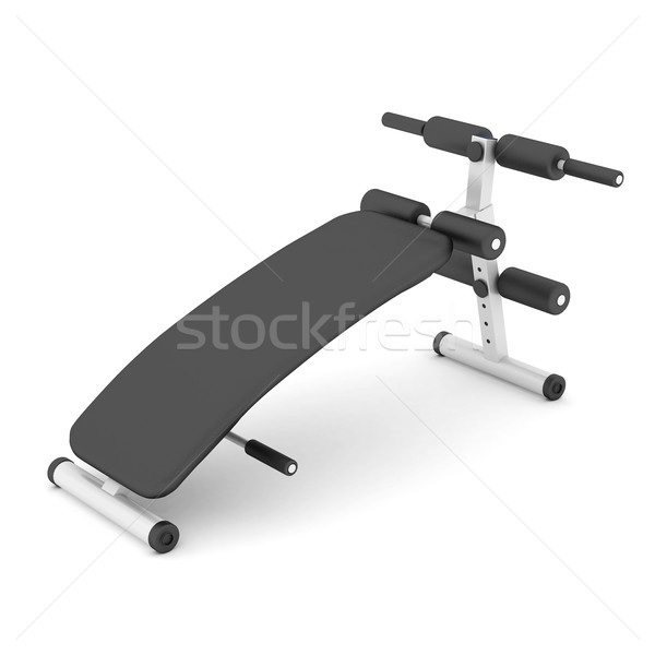 bench press isolated Stock photo © mastergarry